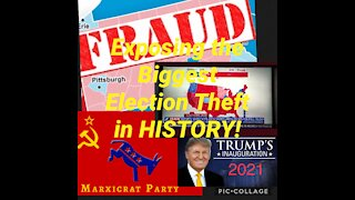 Exposing the Biggest Election THEFT in History!