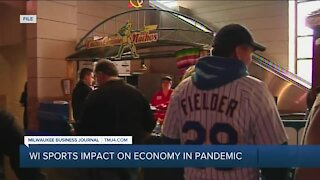 WI sports Impact on economy in pandemic