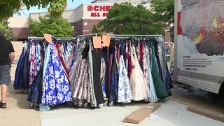Operation Cinderella gets largest dress donation ever