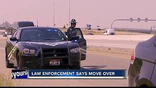 Law enforcement encourages Idaho drivers to move over - Video