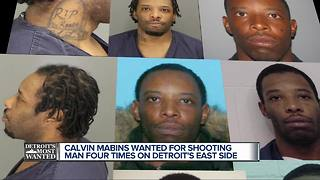 Detroit's Most Wanted: Calvin Mabins wanted for attempted murder - Video