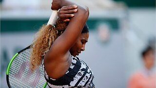 Serena Williams stunned by young American
