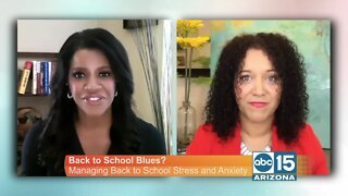 Tips for managing back to school stress and anxiety