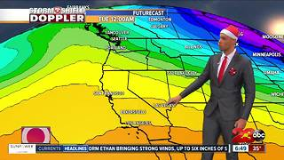 Christmas Morning Weather Update 12/25/17 - Video