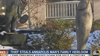 Thief steals Annapolis man's family heirloom - Video