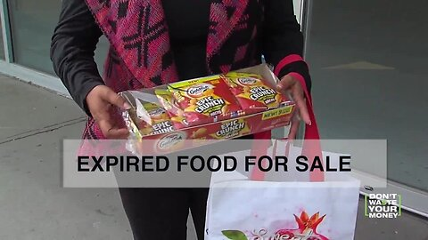 Can stores sell expired food?