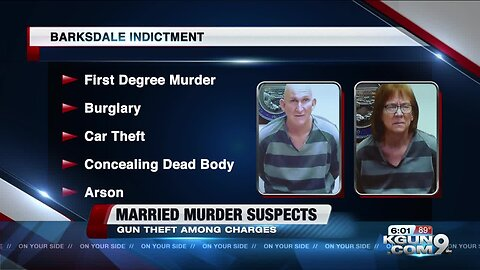 Husband and wife murder suspects: Guns a key piece of the Barksdale case