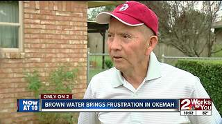 City of Okemah works to fix brown water - Video