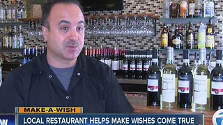 Marco's Italian restaurant partners with 7EWN for Wish Battle