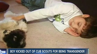 Transgender boy kicked out of Cub Scouts - Video