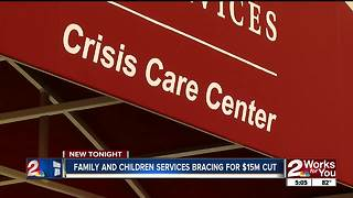 Family and Children Services brace for $15 million state funding cut - Video