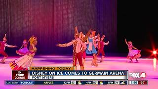 Disney on Ice performs at Germain Arena this weekend - 8:30am live report - Video