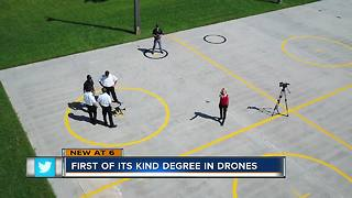 New program first in the Florida to offer drone flying degree