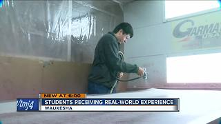 Waukesha program employs high school students at manufacturing companies - Video