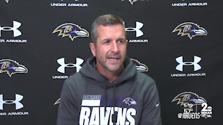 Baltimore Ravens prepare for the Patriots