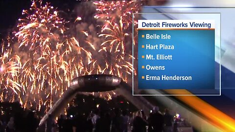 Everything you need to know about the 2019 Ford Fireworks in downtown Detroit