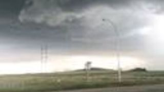 Storm Brings High Winds And Hail to Estevan, Saskatchewan - Video