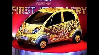22-Carat Gold Car - Video