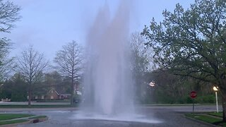 Liberty water main break