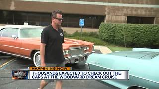 'Bitchin' Rides' host brings special cars to the Woodward Dream Cruise - Video