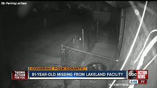 81-year-old missing from Lakeland facility after climbing fence - Video