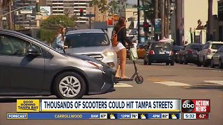 City Council to vote on bringing electric scooters to downtown Tampa