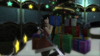 Holiday's with Miqote - FFXIV Starlight Celebration Event - Part 1