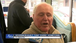 Gov.-Elect Evers' hometown of Plymouth excited for inauguration - Video
