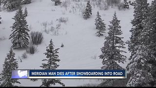 Snowboarder dies after being struck by vehicle near Bogus Basin Saturday night