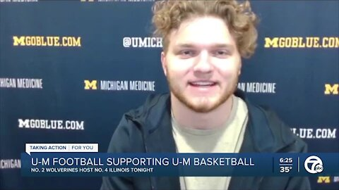 Michigan's Hutchinson excited about basketball team's success