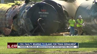 FRA investigating train derailment that caused molten sulfur leak in Lakeland - Video