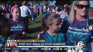 Step Out Walk to Stop Diabetes #RunningWithTiffany2017 - Video