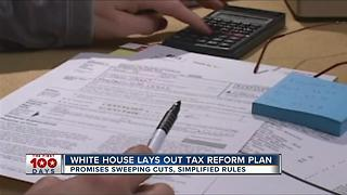 White House lays out tax reform plan - Video