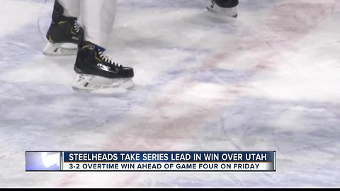 Steelheads take series lead against Grizzlies
