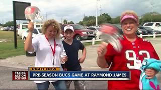 Bucs first home game of the season - Video