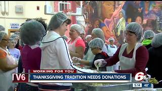 Thanksgiving meal donations needed to feed 9,000 people - Video