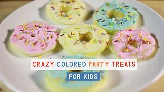 Party Treats: Apple Cream Cheese 'Donuts' - Video
