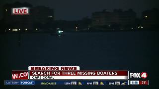 U.S. Coast Guard searches for missing boaters along Caloosahatchee - Video