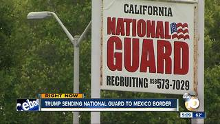 Trump sending National Guard to U.S.-Mexico border - Video