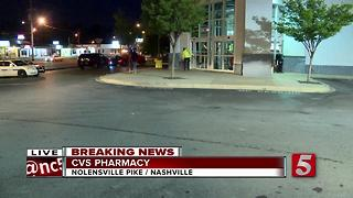 DUI Suspect Crashes Into South Nashville CVS - Video