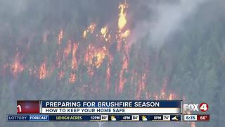 Peak brush fire season is approaching - Video