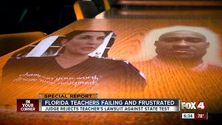 Florida teacher test: judge rules in cases alleging flaws on teacher licensing exams - Video