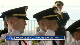 Milwaukee County leaders gather to remember September 11th, 17 years later