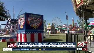 Staying safe at The Kern County Fairgrounds - Video