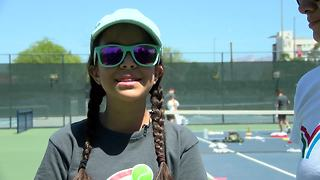 Border Youth Tennis Exchange teaches kids about sports, science, and academics - Video