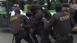Dozens Arrested During Anti-Government Protests in Kazakhstan - Video
