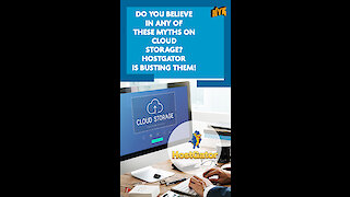 Top 5 Myths About Cloud Storage *