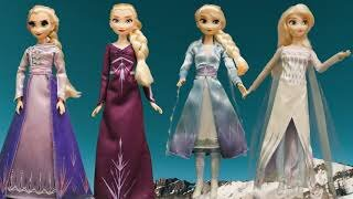 Queen Elsa - Frozen II Arendelle Fashions Dolls (Hasbro & Disney Store - A Polyruss Collection)
