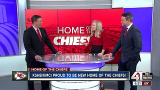 KSHB/KMCI reach agreement to become official broadcast television home of the Kansas City Chiefs