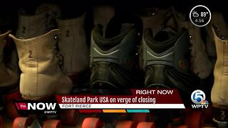 Skateland Park USA on verge of closing - Video